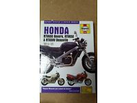 Honda Deauville owners manual