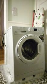 Hotpoint washing machine, barely used, 7 months old
