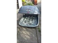 Halfords car roof box