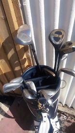 Second hand golf set - quick sale