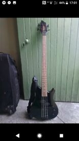 G2 bass guitar with case