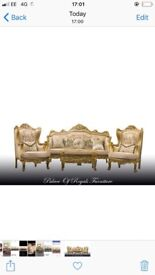Lots of baroque rococo style furniture