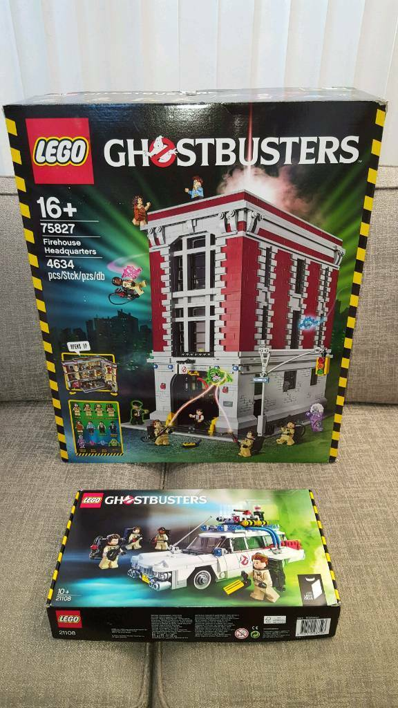 Lego Ghostbusters Firehouse And Ecto 1 In Sandiacre