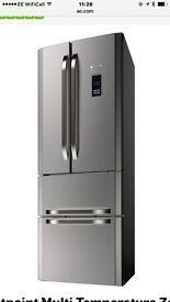 Hotpoint American Style Fridge Freezer- 6 months old- RRP £700 in Devon
