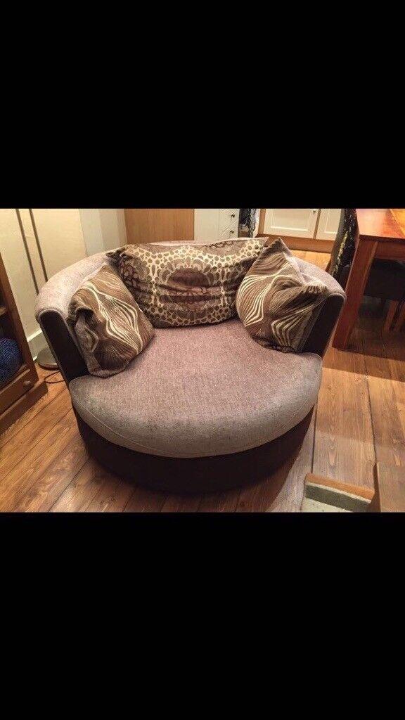 Sofa/swivel chair for sale