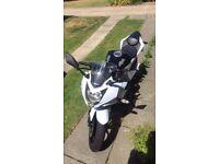 Kawasaki ninja 250cc brand spanking new