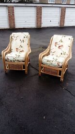 Conservatory wicker chairs for sale