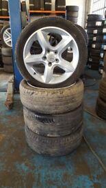 Vauxhall Astra, Vectra, Zafira 17 Inch Alloy Wheels 5 stud