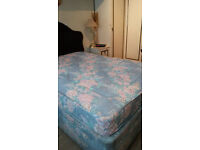 MATTRESS for double bed - very clean & from a non smoking pet free household - selling very cheap
