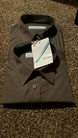 2 pack Mens/boys long sleeve shirts size 14