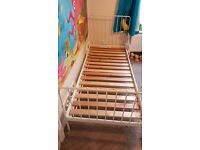 Childrens ikea extendable toddler/single Bed