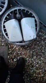 Pair of vauxhall nova wing mirrors