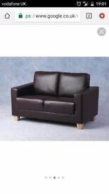 Brand new 2 seater leather