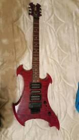 Vintage Metal Axe Guitar