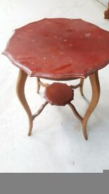 Lamp table - renovation project