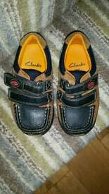 Kids shoe by Clarkes