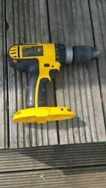 Dewalt DC725 combi hammer drill 18v - spares / repair