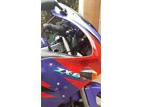Fast, reliable, Kawasaki Ninja ZX-6R for sale
