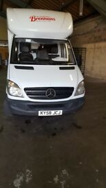Mercedes Benz LWB SPRINTER VAN whit tail lift