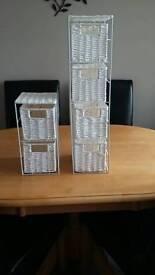Bathroom storage towers