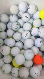 100 Mixed Brand Golf Balls