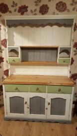 Welsh dresser hand painted and upcycleed