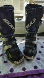 Wulf child quad/bike boots child uk9