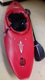 Dagger river kayak & Streamline paddle