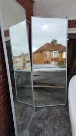 Wardrobe Sliding Mirror Doors and Contiplas Melamine board