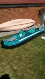 Sevylor Madison 2 person inflatable Kayak
