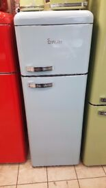 BRAND NEW Swan SR11010ON Retro Tall Fridge Freezer with 6 MONTHS WARRANTY