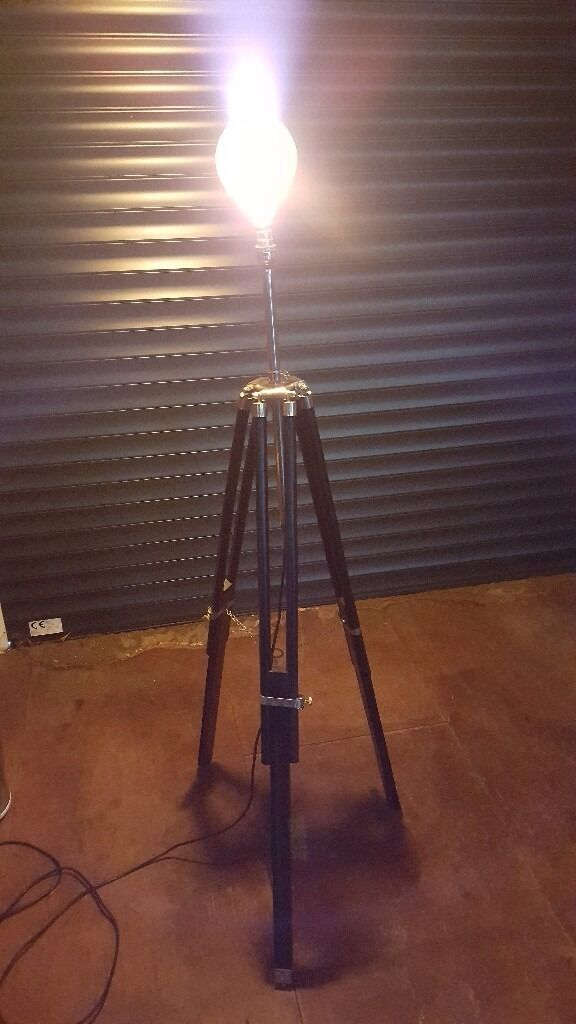 HEALS Adjustable Tripod Floor Lamp Standin Camberwell, LondonGumtree - An adjustable floor lamp in chrome and black bought from Heals in London about 3 years ago. I think it was about £150. In perfect condition