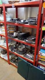 Stainless steel pottery, catering
