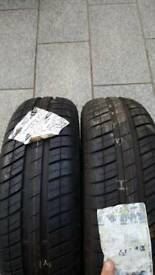Goodyear tyres x2 165 70r13