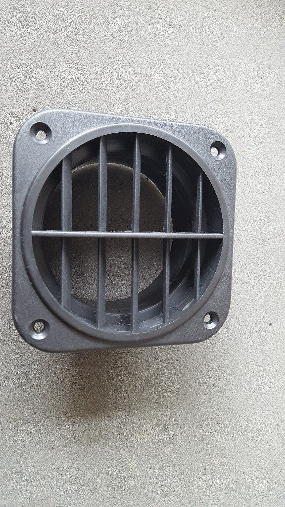 EBERSPACHER / WEBASTO NIGHT HEATER VENT / OUTLET WITH ROTATING ROTATABLE LOUVRE FOR 80MM DUCTING