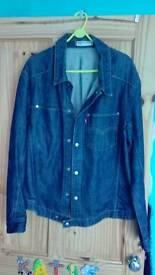 Mens Levis twisty jeans jacket