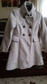 Used girls Coat size 7-8 in VGC