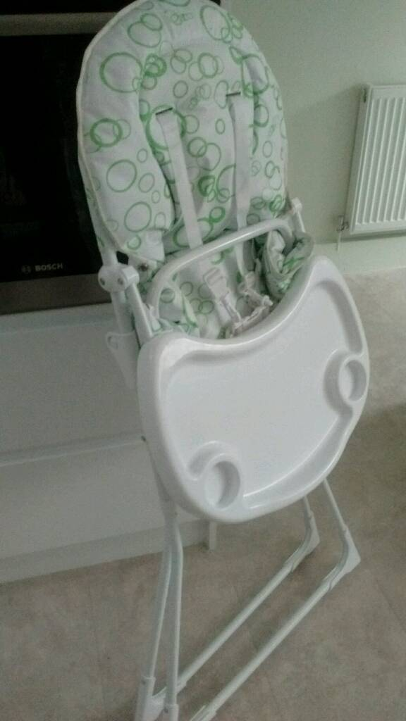 Argos bubbles highchair