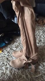 Women's suede long boots