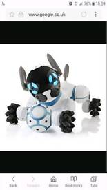 CHIP ROBOT DOG. EXCELLENT CONDITION. ALL PARTS WORKING.