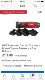 Liveryman classic clippers