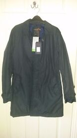 "Mans coat ""Designers at Debenhams"" Hammond of Oxford St, Navy Lovely Quality Small New unworn.."