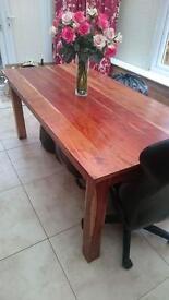Solid wood set of 3 furniture set