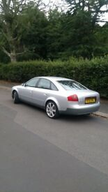 Audi A6 saloon 1.8 t petrol manual