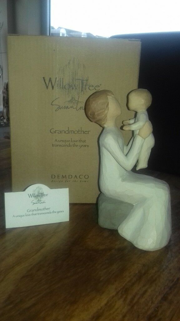 "Brand New in Box Willow Tree ""Grandmother"" figure"