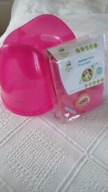 Pink Potty and Travel Toilet Seat