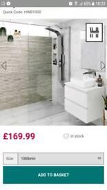 Shower wetroom screen