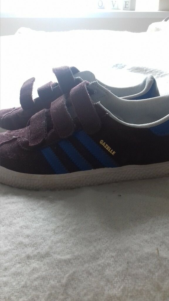 addidas trainers size 1 excellent condition