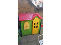 FREE Plastic Wendy garden play house