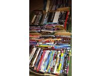 JOB Lot of Dvds and cds for market or car boot.